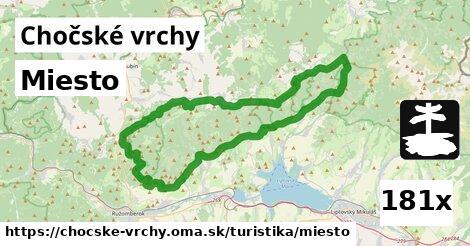 ilustračný obrázok k Miesto, Chočské vrchy