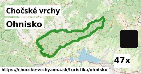 ilustračný obrázok k Ohnisko, Chočské vrchy