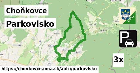 ilustračný obrázok k Parkovisko, Choňkovce
