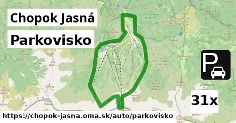 ilustračný obrázok k Parkovisko, Chopok Jasná