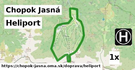 ilustračný obrázok k Heliport, Chopok Jasná