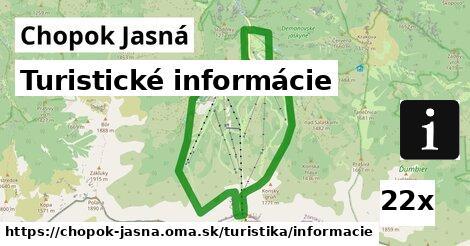 ilustračný obrázok k Turistické informácie, Chopok Jasná