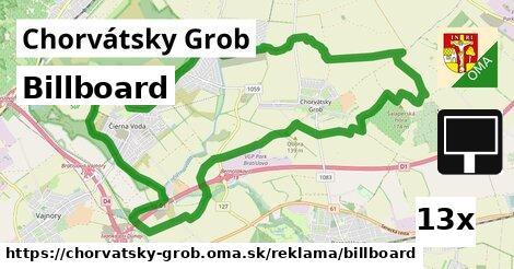 billboard v Chorvátsky Grob