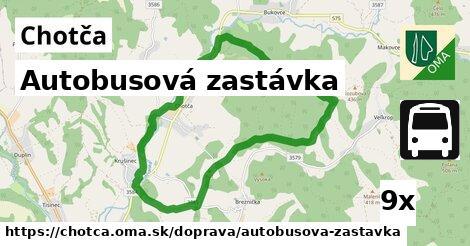 ilustračný obrázok k Autobusová zastávka, Chotča
