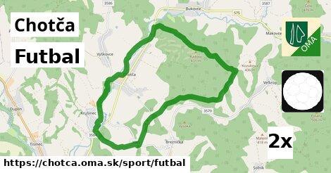 ilustračný obrázok k Futbal, Chotča