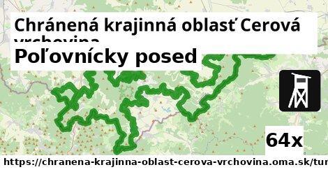 poľovnícky posed v Chránená krajinná oblasť Cerová vrchovina