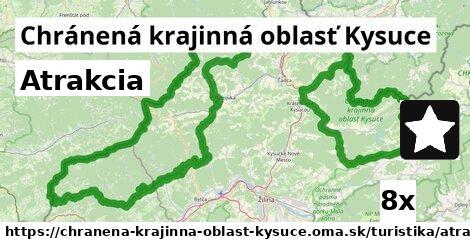 ilustračný obrázok k Atrakcia, Chránená krajinná oblasť Kysuce