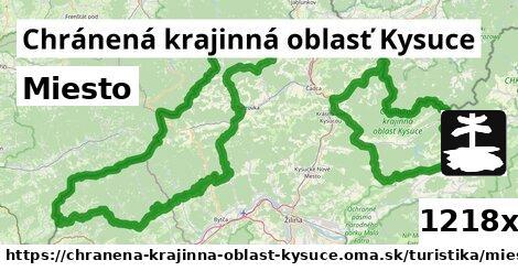ilustračný obrázok k Miesto, Chránená krajinná oblasť Kysuce