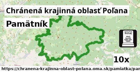 pamätník v Chránená krajinná oblasť Poľana