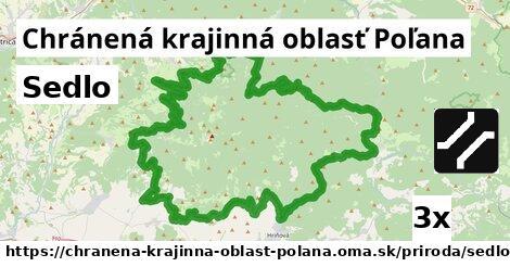 sedlo v Chránená krajinná oblasť Poľana
