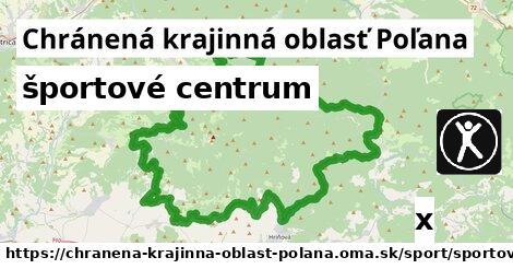 športové centrum v Chránená krajinná oblasť Poľana