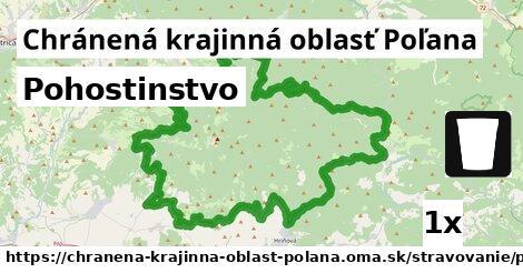 pohostinstvo v Chránená krajinná oblasť Poľana