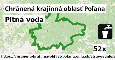 pitná voda v Chránená krajinná oblasť Poľana