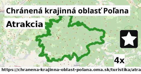 atrakcia v Chránená krajinná oblasť Poľana