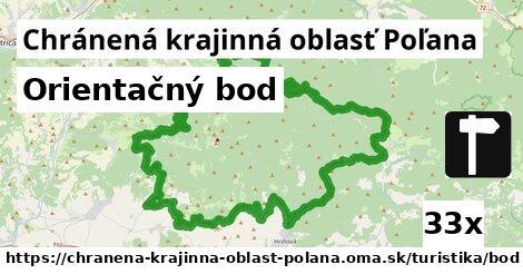 orientačný bod v Chránená krajinná oblasť Poľana