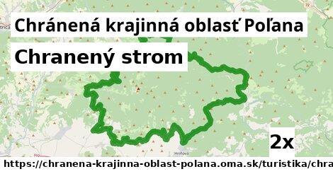chranený strom v Chránená krajinná oblasť Poľana