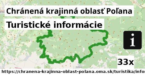 turistické informácie v Chránená krajinná oblasť Poľana