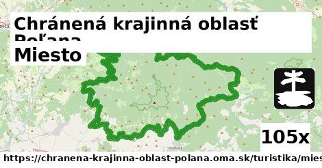 miesto v Chránená krajinná oblasť Poľana