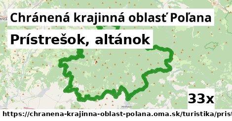 prístrešok, altánok v Chránená krajinná oblasť Poľana