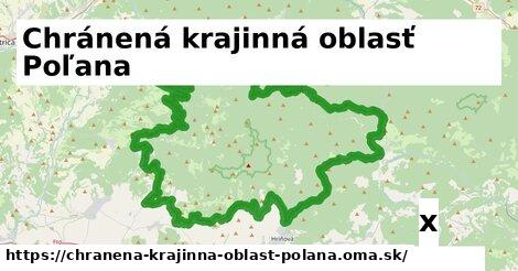strom v Chránená krajinná oblasť Poľana