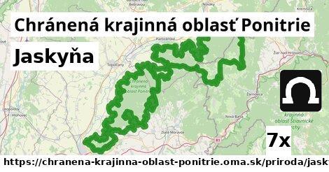jaskyňa v Chránená krajinná oblasť Ponitrie