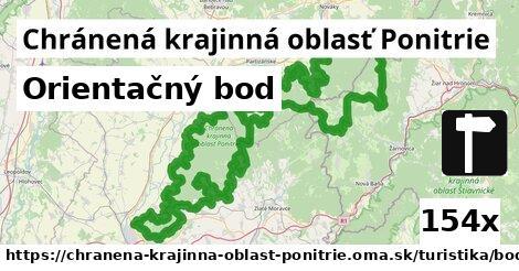 orientačný bod v Chránená krajinná oblasť Ponitrie