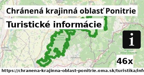 turistické informácie v Chránená krajinná oblasť Ponitrie