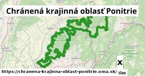 strom v Chránená krajinná oblasť Ponitrie
