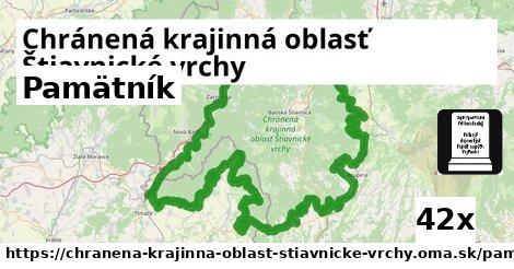 ilustračný obrázok k Pamätník, Chránená krajinná oblasť Štiavnické vrchy