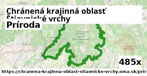 príroda v Chránená krajinná oblasť Štiavnické vrchy