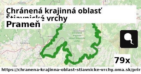 ilustračný obrázok k Prameň, Chránená krajinná oblasť Štiavnické vrchy