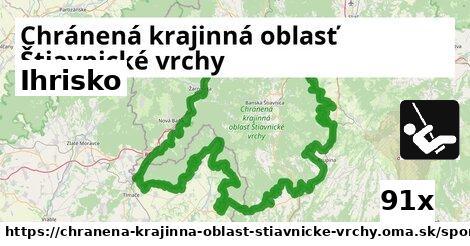 ilustračný obrázok k Ihrisko, Chránená krajinná oblasť Štiavnické vrchy