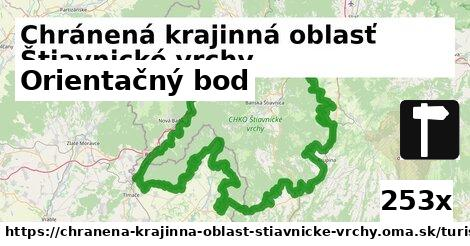 orientačný bod v Chránená krajinná oblasť Štiavnické vrchy