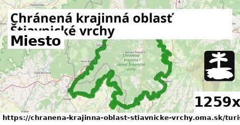 ilustračný obrázok k Miesto, Chránená krajinná oblasť Štiavnické vrchy