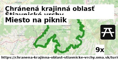 ilustračný obrázok k Miesto na piknik, Chránená krajinná oblasť Štiavnické vrchy