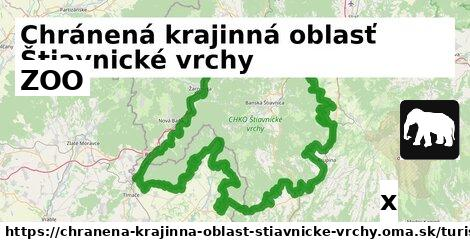 ZOO v Chránená krajinná oblasť Štiavnické vrchy