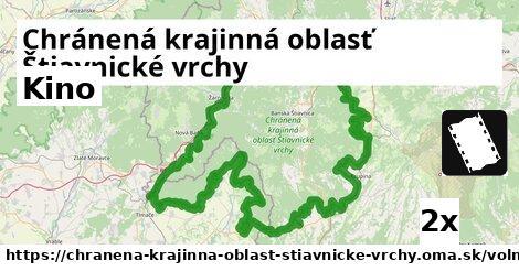 kino v Chránená krajinná oblasť Štiavnické vrchy
