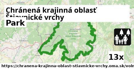 ilustračný obrázok k Park, Chránená krajinná oblasť Štiavnické vrchy