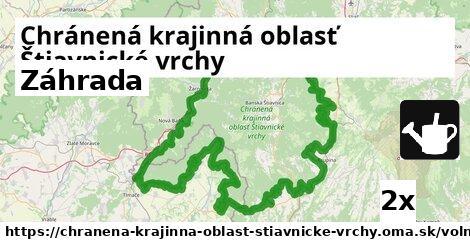ilustračný obrázok k Záhrada, Chránená krajinná oblasť Štiavnické vrchy