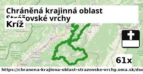 kríž v Chráněná krajinná oblast Strážovské vrchy