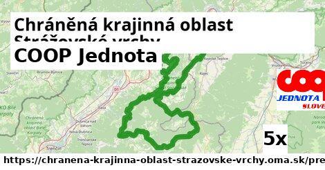 COOP Jednota v Chráněná krajinná oblast Strážovské vrchy