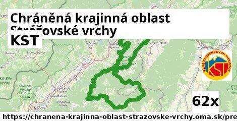 KST v Chráněná krajinná oblast Strážovské vrchy
