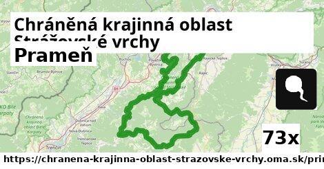 prameň v Chráněná krajinná oblast Strážovské vrchy