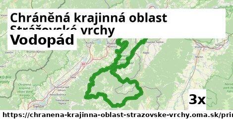 ilustračný obrázok k Vodopád, Chráněná krajinná oblast Strážovské vrchy
