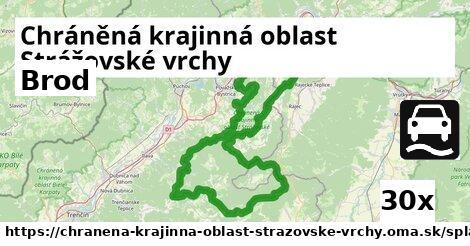brod v Chráněná krajinná oblast Strážovské vrchy