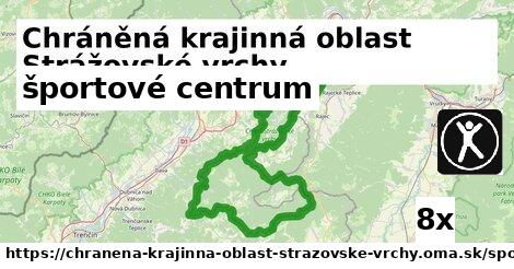 športové centrum v Chráněná krajinná oblast Strážovské vrchy