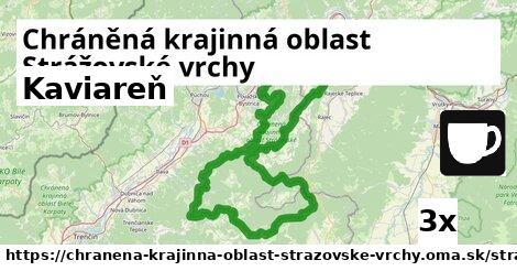 kaviareň v Chráněná krajinná oblast Strážovské vrchy