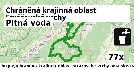 pitná voda v Chráněná krajinná oblast Strážovské vrchy