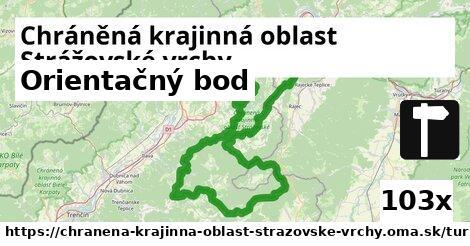 ilustračný obrázok k Orientačný bod, Chráněná krajinná oblast Strážovské vrchy