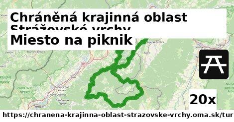 ilustračný obrázok k Miesto na piknik, Chráněná krajinná oblast Strážovské vrchy